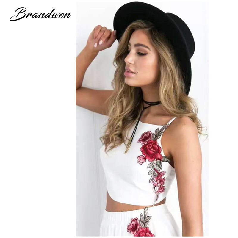3a73b665b Brandwen Elegant Women s Casual Two Pieces Sets Female Fashion ...