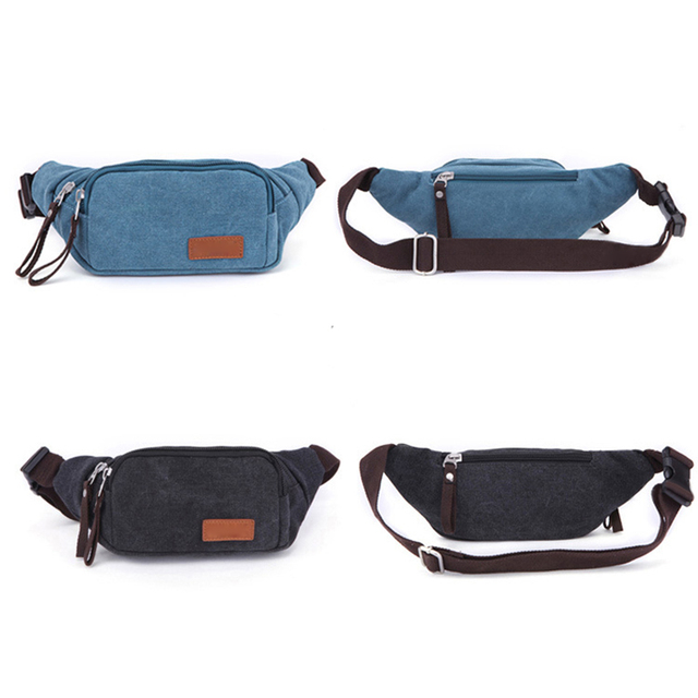 2017 Durable Shoulder Messenger Bag Latest Canvas Waist Packs Bag Portable Ultra-large Capacity High Quality Free Shipping P418