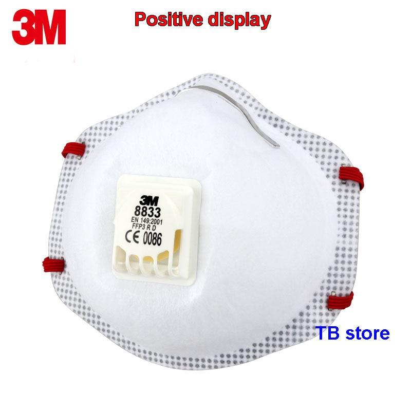 3m mascherina antipolvere ffp3 con valvola 8833