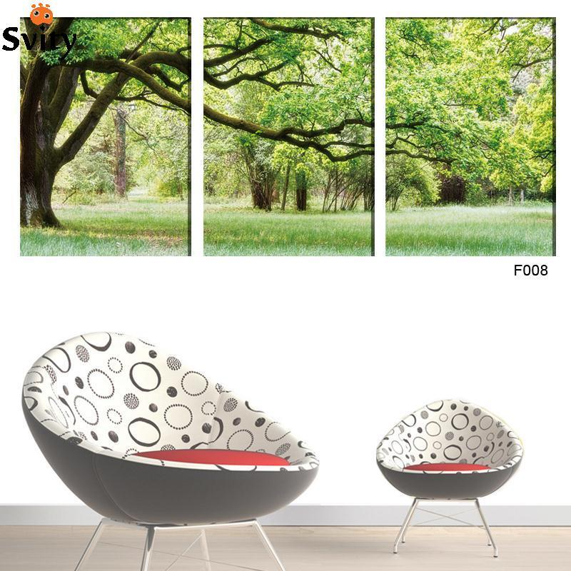 3 Panel Tree Landscape Canvas Painting Picture Home Decor Modular Wall Picture For Living Room No Frame Modern Prints wholesale