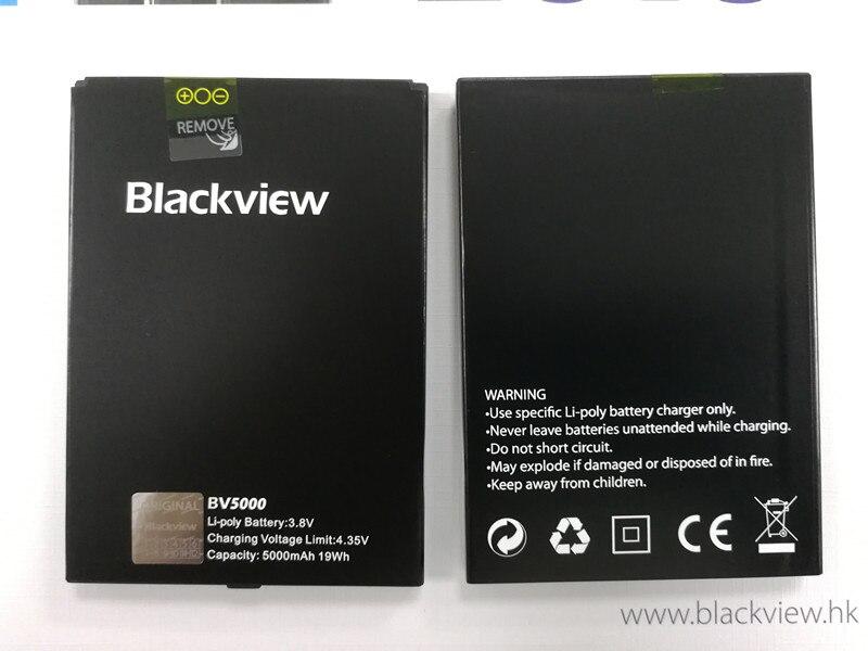 imágenes para Nueva Original Blackview BV5000 5000 mAh Respaldo de Batería de Reserva del Li-ion Reemplazo Accesorio Acumuladores Para Blackview BV5000