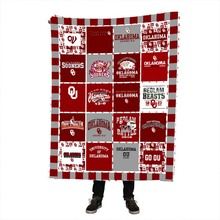Oklahoma Printing Fleece Blanket Soft Warm Stitch Children Blanket on Bed/Crib Travel Throw Blankets 150x200cm все цены