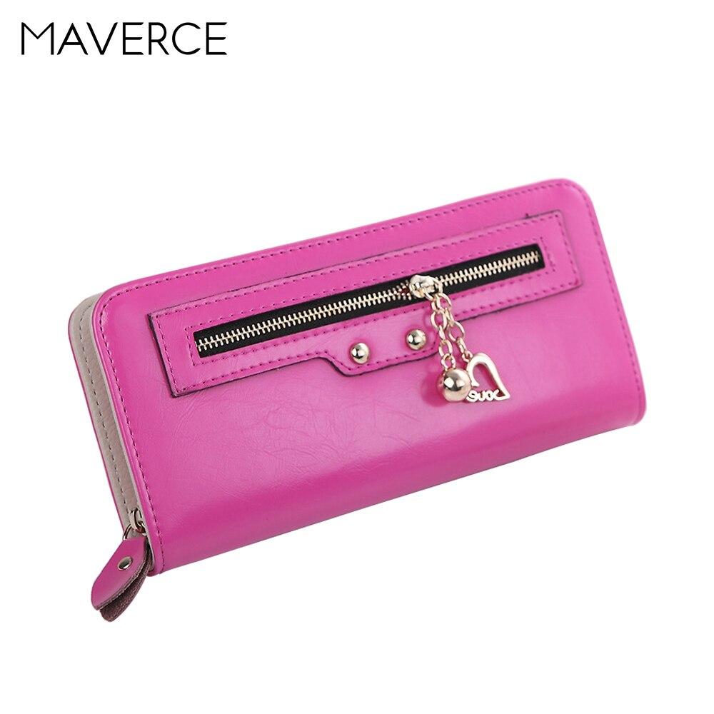 6 couleur Style coréen mode femmes portefeuilles hasp femmes sac à main longue conception Zipper dames portefeuille véritable porte-cartes en cuir