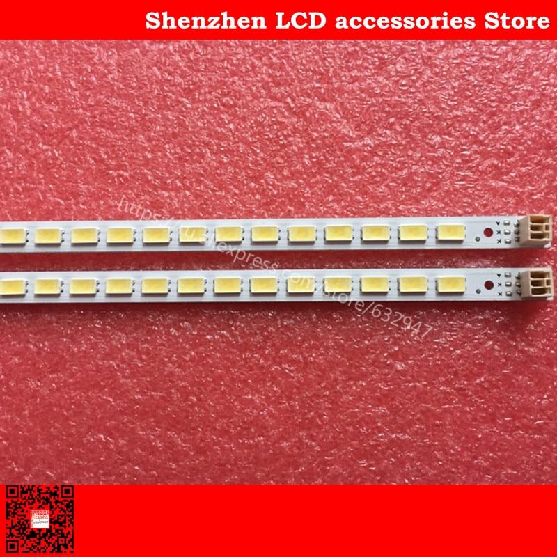2PCS FOR TCL L40F3200B LED Backlight LJ64-03029A 2011SGS40 5630 60 H1 REV1.1 Lamp 455mm  60LED  Original LCD Lamp