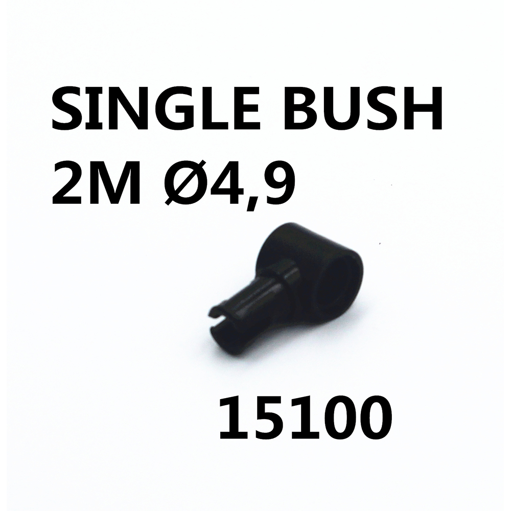 MOC Technic Parts 30pcs SINGLE BUSH 2M DIA4,9 Compatible With Lego For Kids Boys Toy 15100