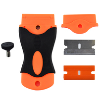 LCD Glue Remover Scraper For Mobile Phone Tablet Screen Cover Repair Tool With 2 PCs Blades