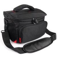1 Camera + 1/2 Lens Camera Bag Waterproof Case For Nikon D7000 D7100 D7200 D7500 D810 D60 D90 Sony A7III Canon 5D Mark II III IV