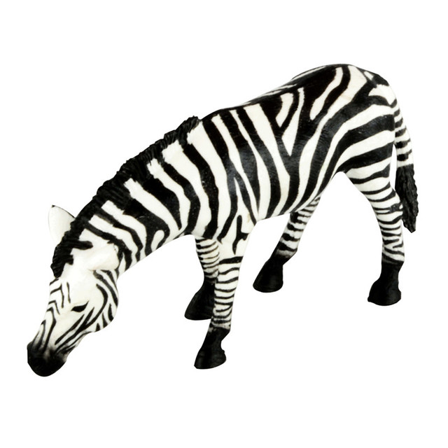 Starz Animals Zebra Drinking Water Static Model Plastic Action Figures Educational Horse Toys Gift For Kids