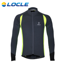 LOCLE High Quality Winter Windproof Cycling Jersey Raincoat Men Bike Bicycle Clothes Size S To XXL 2 Colors