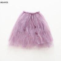 MIlANCEL 2018 New Girls Skirt Mesh Style Children S Skirt Girls Tutu Skirt Princess Girls Clothing