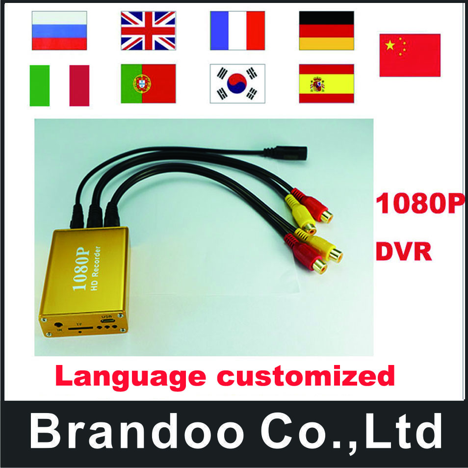 1CH 1080P TVI SD DVR,Golden DVR,Works with 2.0MP AHD camera new arrival 1 channel 1080p sd dvr golden dvr works with tvi hd camera 128gb tf memory motion detection brandoo bd 3118