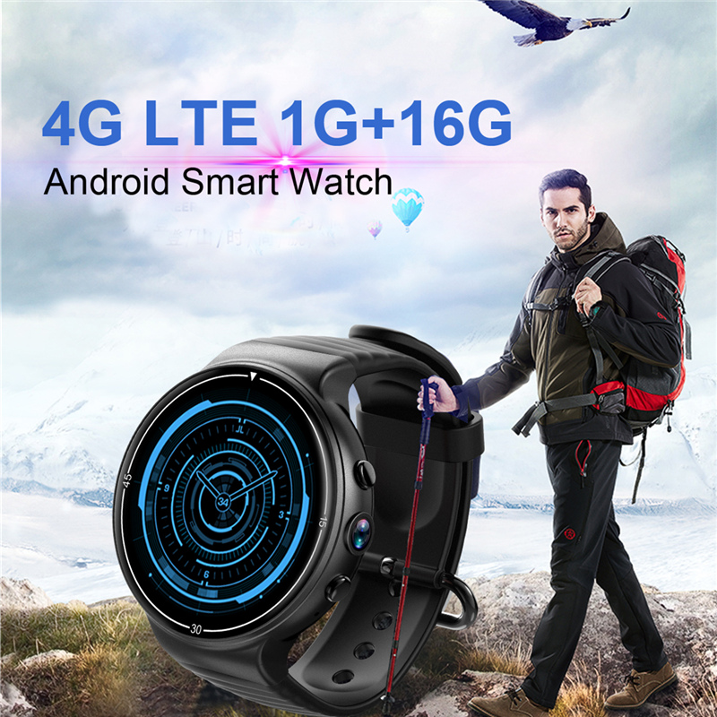 OGEDA smart watch I8 Android 7.0 1.39 Écran Couleur 4g LTE carte SIM smartwatch GPS caméra coeur taux WIFI Bluetooth smart watch