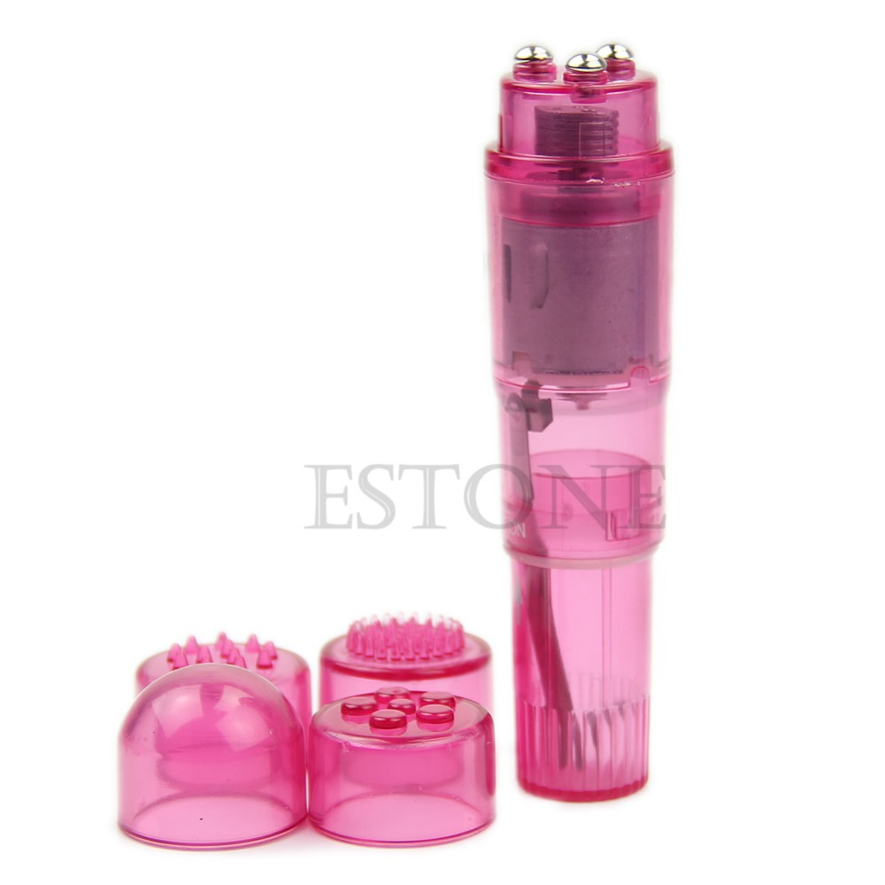 Good Quality S-LOVE 1Pc Pink Supre Mini Full Body Massager Relieve Stress Travel Pocket Rocket