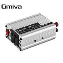 Inversor Del Coche Inversor DC12V A AC220V Inversor de la Energía de Tensión para Vehículos Adaptador 300/400/500/600