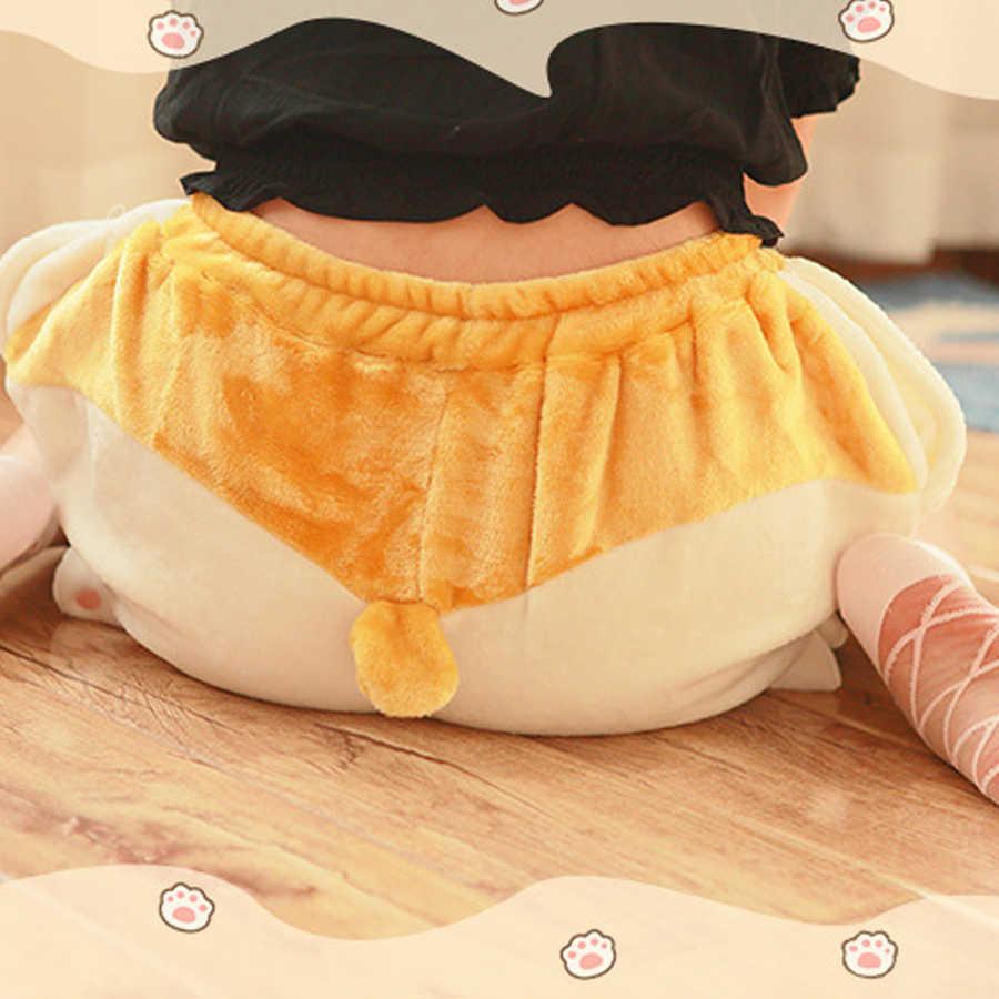 Милый корги собака Хип Короткие сна низ для женщин Весна Kawaii Девушка эластичный пояс пижамы трусы Harajuku Тыква шаровары Mujer