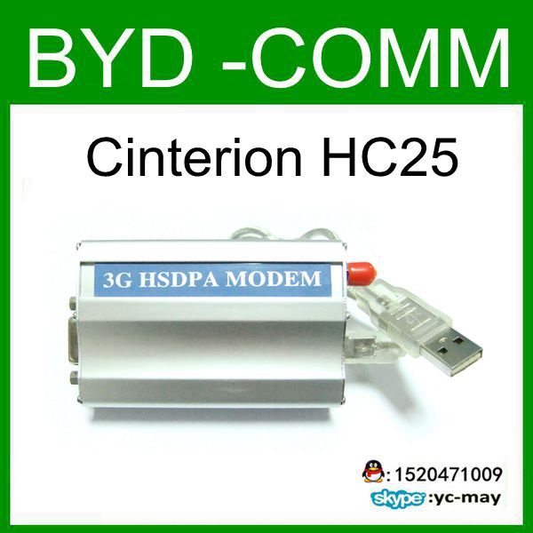 factory wholesale HC25 MODEM FOR USB&RS232 3G WCDMA MODEM 3g wcdma hsdpa uc15 modem bulk sms machine with usb and rs232 interface