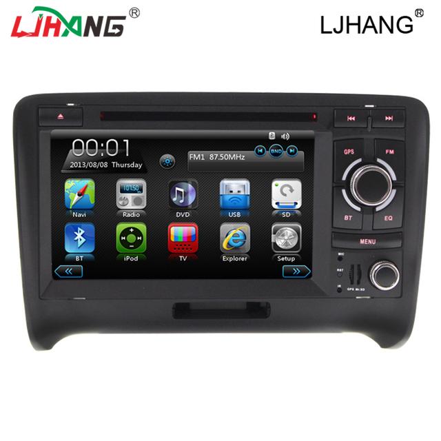 2 din 7 Polegada Tela Sensível Ao Toque de Navegação GPS do carro HD DVD Player Com Canbus Para TT (2006-2011) Bluetooth 1080 P 3G WIFI Ipod