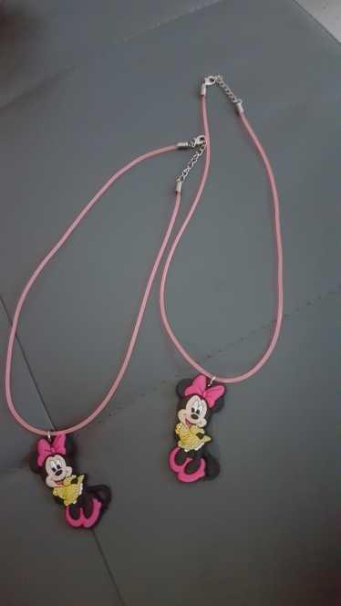 1 Chiếc Hoạt Hình Mickey Cổ Kawaii Minnie Choker PVC Charm Dây Dây Chuyền Mặt Dây Chuyền Thời Trang Phụ Kiện Trẻ Em Quà Tặng Sinh Nhật