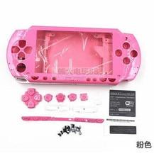 Бесплатная доставка Корпус чехол с пуговицы комплект для PSP1000 для PSP1000 чехол