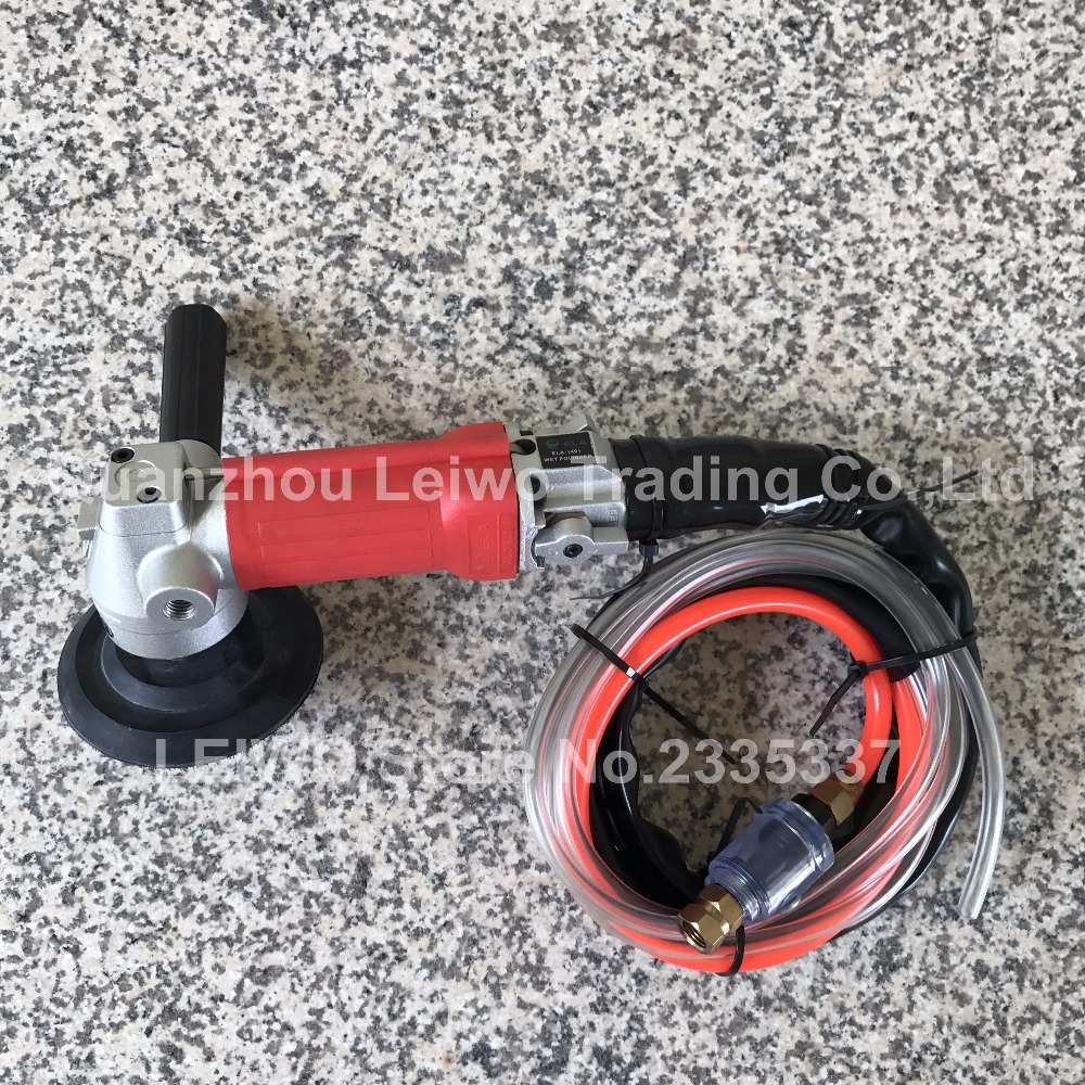 Us 202 89 20 Off Air Wet Polisher Rear Exhaust Pneumatic Tools For Polishing Stone Concrete Countertop Sander Grinder In