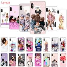 Lavaza Hard Case for Huawei Mate 10 20 P9 P10 P20 Lite Pro P smart Honor 8X Cover Super mama girly Girl Queen Cases