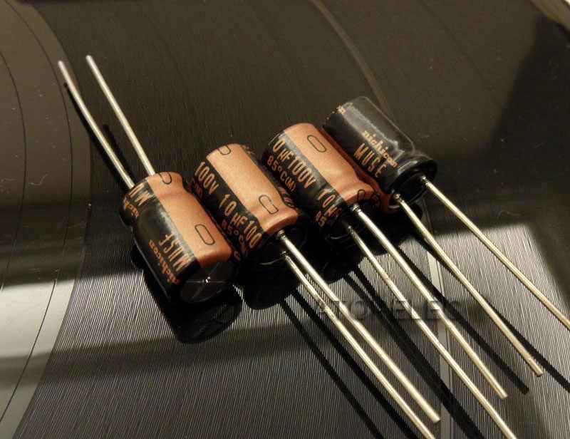 10 cái NEW Nichicon MUSE KZ 10 uF/100 V Điện Phân Tụ Hi-Fi Audio
