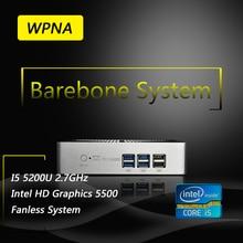 Ргнс неттоп barebone ux850 intel core i5 5200u hd graphics 5500 WI-FI Windows10 Мини-Пк Все В Одном Компьютере Office обои для рабочего