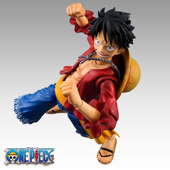 Anime One Piece 18cm BJD Joints Moveable Luffy PVC Action Figure Collection Model Toys