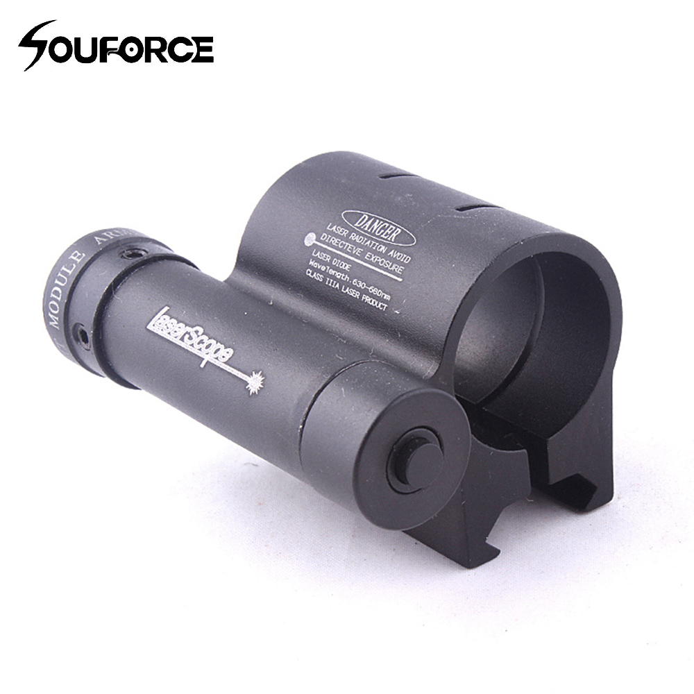 Tratical Red Laser Pointer 630-680nm Laser Sight with a Mount for Gun Rifle Weaver Mount Rail Hunting Rifle Scope