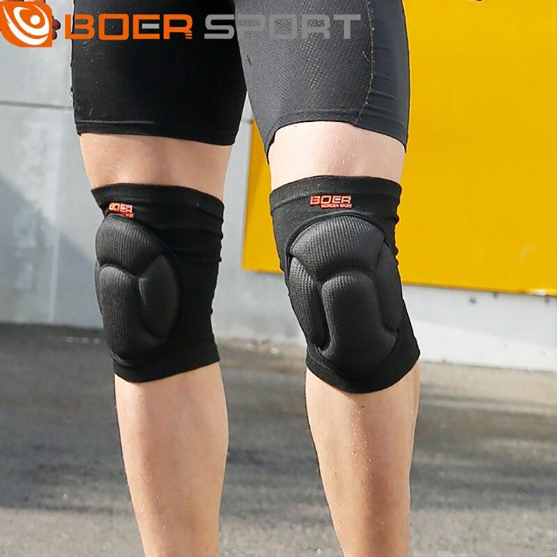 Novo quente engrossar esponja joelho apoio proteger