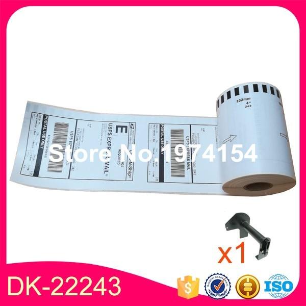 50 x Rolls Brother Compatible Labels DK 22243 102mm x 30 48m Continuous Paper Labels DK
