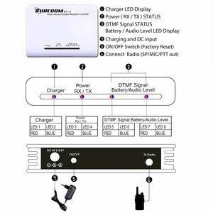 Image 3 - Controle repetidor de rádio simplex, controlador de banda cruzada dupla com controle para celular e ham radio walkie talkie, SR 112