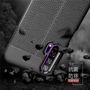 Image 2 - For Huawei Honor 20 Pro Case Luxury PU leather Rubber Soft Silicone Phone Case For Huawei Honor 20 Pro Cover For Honor 20 Pro