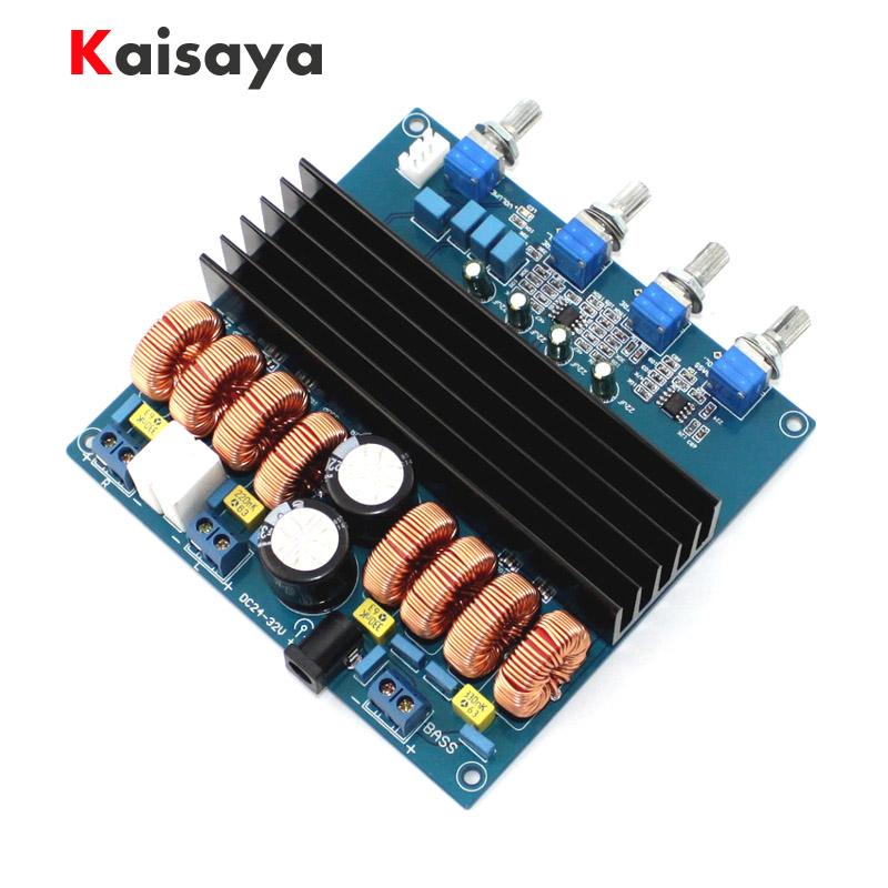 TDA7498 200W+2*100W 2.1 Digital Power Amplifier Board Audio Amplificador Class D Dual Audio Stereo Beyond TPA3116 C5-004 2017 new k guss gu50 hifi 2 0 class d tpa3116 mini borne audio power amplifier amplificador 2 50 w dc12v to dc24v