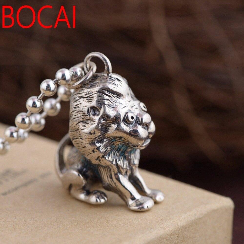 S925 antique style lion PendantS925 antique style lion Pendant