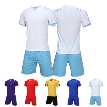 Dresy do piłki nożnej koszulki dzieci mężczyźni zestaw koszulek do piłki nożnej puste dla dorosłych szkolenia piłki nożnej zestawy DIY drużyna piłki nożnej koszulki mundury niestandardowe tanie i dobre opinie Poliester HAMEK Pasuje mniejszy niż zwykle proszę sprawdzić ten sklep jest dobór informacji