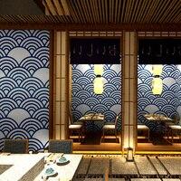 Japanese Style Wallpaper Restaurant Bedroom Kitchen Decoration Ukiyo e Wall Paper Roll