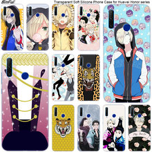 Hot Anime YURI su GHIACCIO Molle Del Silicone Cassa Del Telefono per Huawei Honor 20 20i 10 9 8 Lite 8X 8C 8A 8 S 7 S 7A Pro Vista 20 di Modo Della Copertura