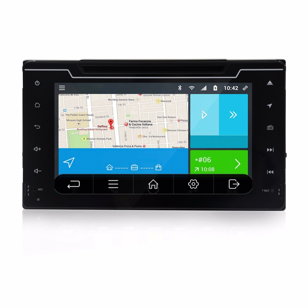 8 2 din Android 6 0 Car Radio DVD Player for Toyota Corolla 2017 With GPS