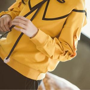 Image 4 - בנות בגדים סטי אביב סתיו ילדים ארוך שרוול חולצות + מכנסיים חליפה חדש הילדה Outewear ילדי בגדי סט 4 13Y