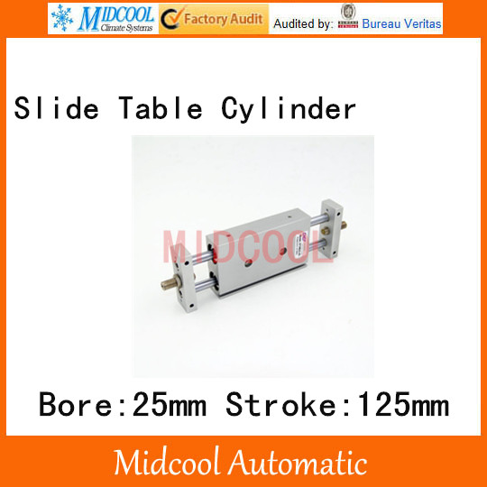 STMB slipway/cylinder double cylinder pneumatic components STMB25-125 bore 25mm stroke 125mm cylinder