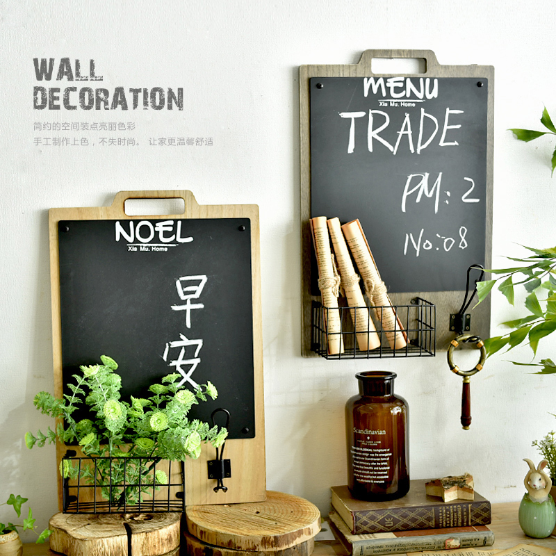 Heavy duty wall deco board vintage style wall writing for Wall and deco showroom milano