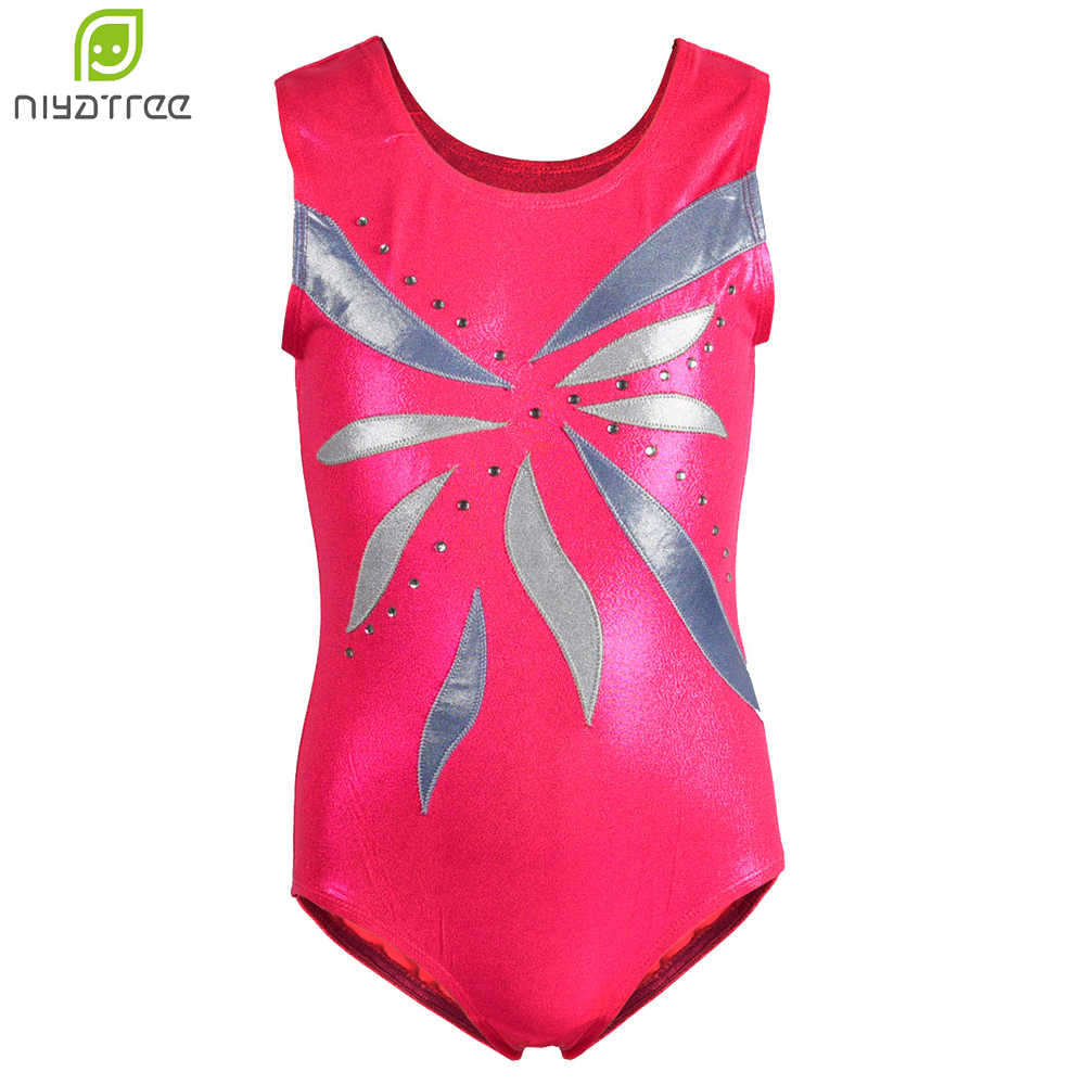 c261fc4a4 Detail Feedback Questions about Girls Printed Gymnastics Leotard ...