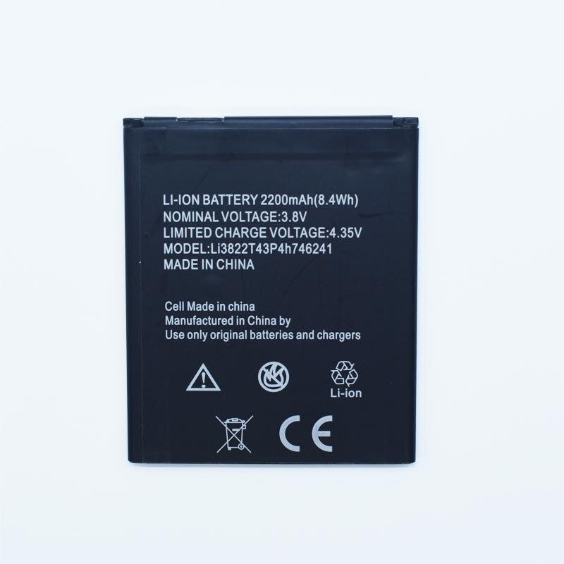 Hekiy High Quality 2200mAh Li3822T43P4h746241 Battery For ZTE Blade L4 Pro A465 A475 / ZTE TWM Amazing X3s Mobile Phone
