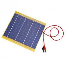 5W Portable Solar Panel DIY Power Charger Solar Panel 18V Mini Solar Panel for for Car Boat Automobile 12V Battery zonnepaneel