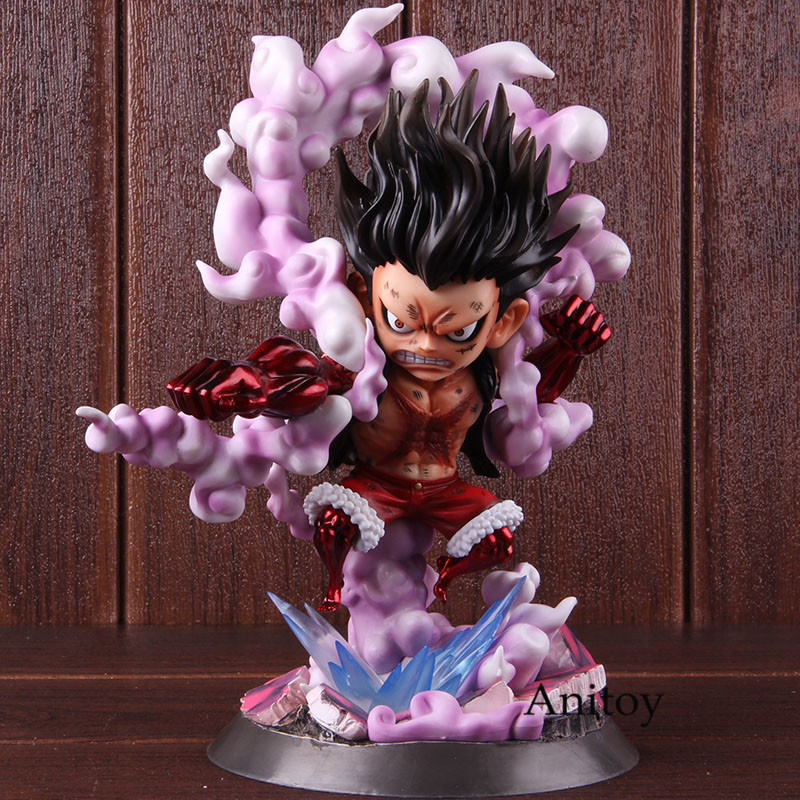 Anime One Piece Monkey D Luffy Gear 4 Snake Man Luffy Gear Fourth PVC Action Figure Collectible Model Toy 1