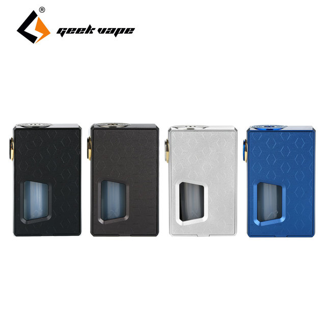 GeekVape Athena Mechanical Squonk MOD Aluminum Material Box Mod & 6.5ml Silicone Squonk Bottle No 18650 Battery E-cigarette Mod 1
