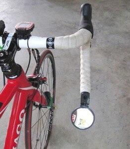 Image 4 - Rennrad Spiegel Fahrrad Racing Bike Spiegel Lenker Spiegel Flexible Racing Sicherheit Rück Einstellbare Spiegel Unzerbrechlich