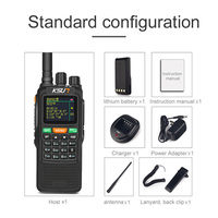 GPS Positioning 10W 6000 mAh KSUN Walkie Talkie Civilian 50 KM Outdoor National High Power Intercom Handheld Machine