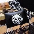 women bag bolsa feminina clutch PU leather Skull printing luxury Handbag Phone Pocket Day Clutches Coin Purse Women Wallets B803